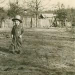 This is a photo of my dad as a little boy in Arkansas. It's also the background image for my page here, though it's kind of hard to see.