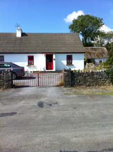Our rental cottage in Ballyvaughan.